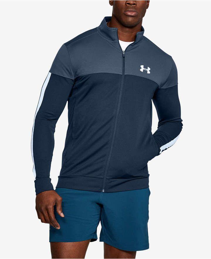 Al aire libre Exponer fregar  Under Armour Men's Sportstyle Pique Jacket & Reviews - Coats & Jackets -  Men - Macy's in 2020 | Jackets, Track jackets, Under armour men