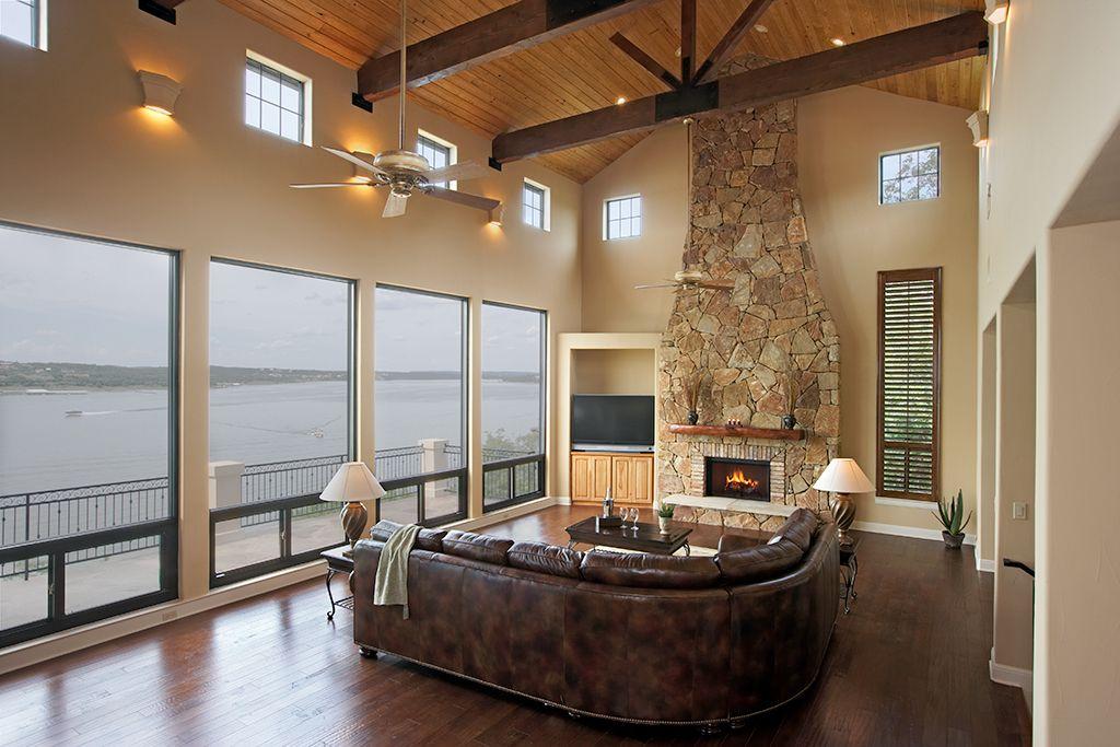 Awardwinning lake travis waterfront home jenkins design