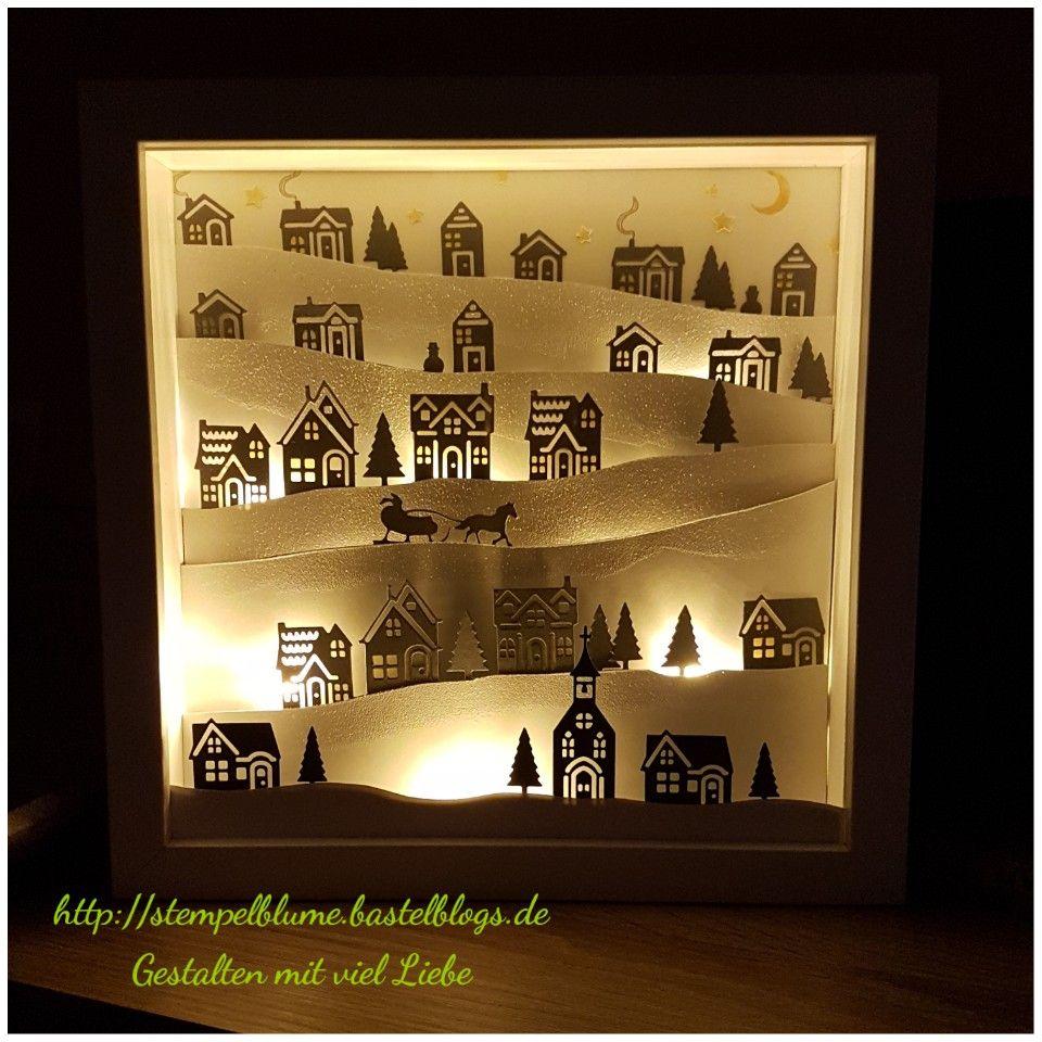 stampinup mein erster ribba rahmen mit dem produktpaket weihnachten daheim und das ganze. Black Bedroom Furniture Sets. Home Design Ideas