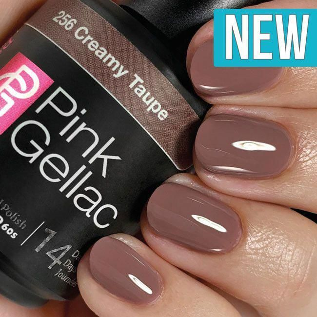 Pink Gellac Color 256 Creamy Taupe