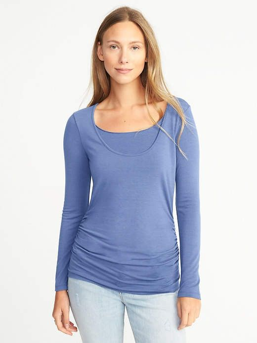 3d384034ea9c7 Old Navy Maternity Fitted Nursing Top | Cold shoulder clothes ...