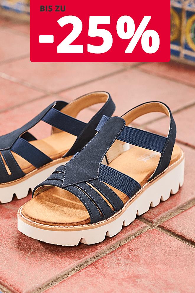 Rieker Damen Sandale Blau V7371 14 In 2020 Sandalen Damen Fruhjahr Sommer
