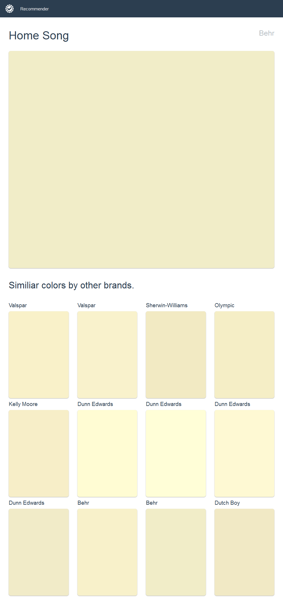 home song behr click the image to see similiar colors by on valspar paint visualizer interior id=54134