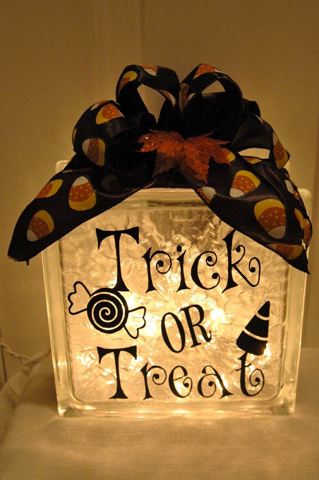 Halloween Decals Stickers For Glass Block Holiday Decoration - Halloween vinyl decals for glass blocks