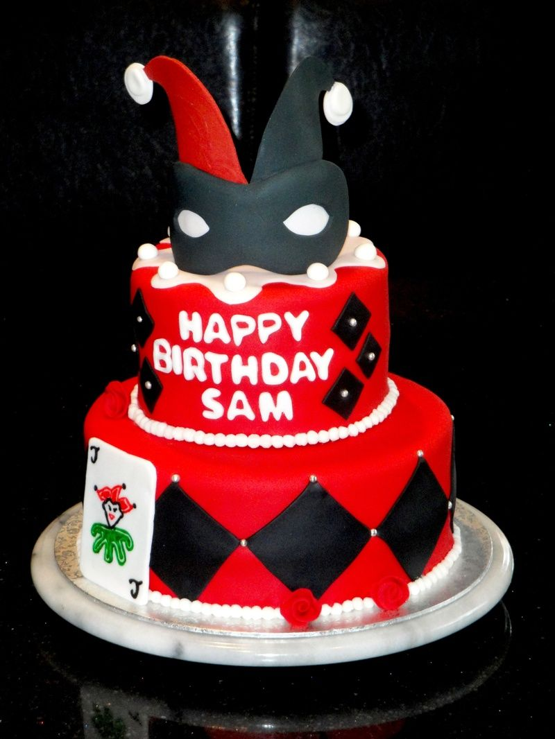 Harley Quinn Cake Google Search Birthday Cakes