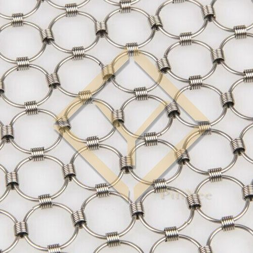 Pinyee Hebei Ring Mesh Spring Connected Chainmail Mesh
