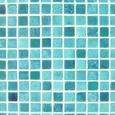 Aqua Blue Mosaic Tile Self Adhesive Wallpapers | Home Improvement | Blue mosaic tile, Self ...