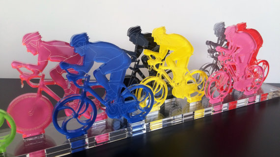 Bike Racers Sport Collectors Item Triathlon Gift