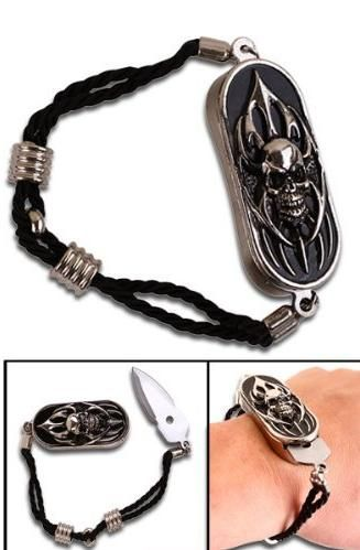 Hidden Blade Bracelet My Steez Pinterest Weapons Skull