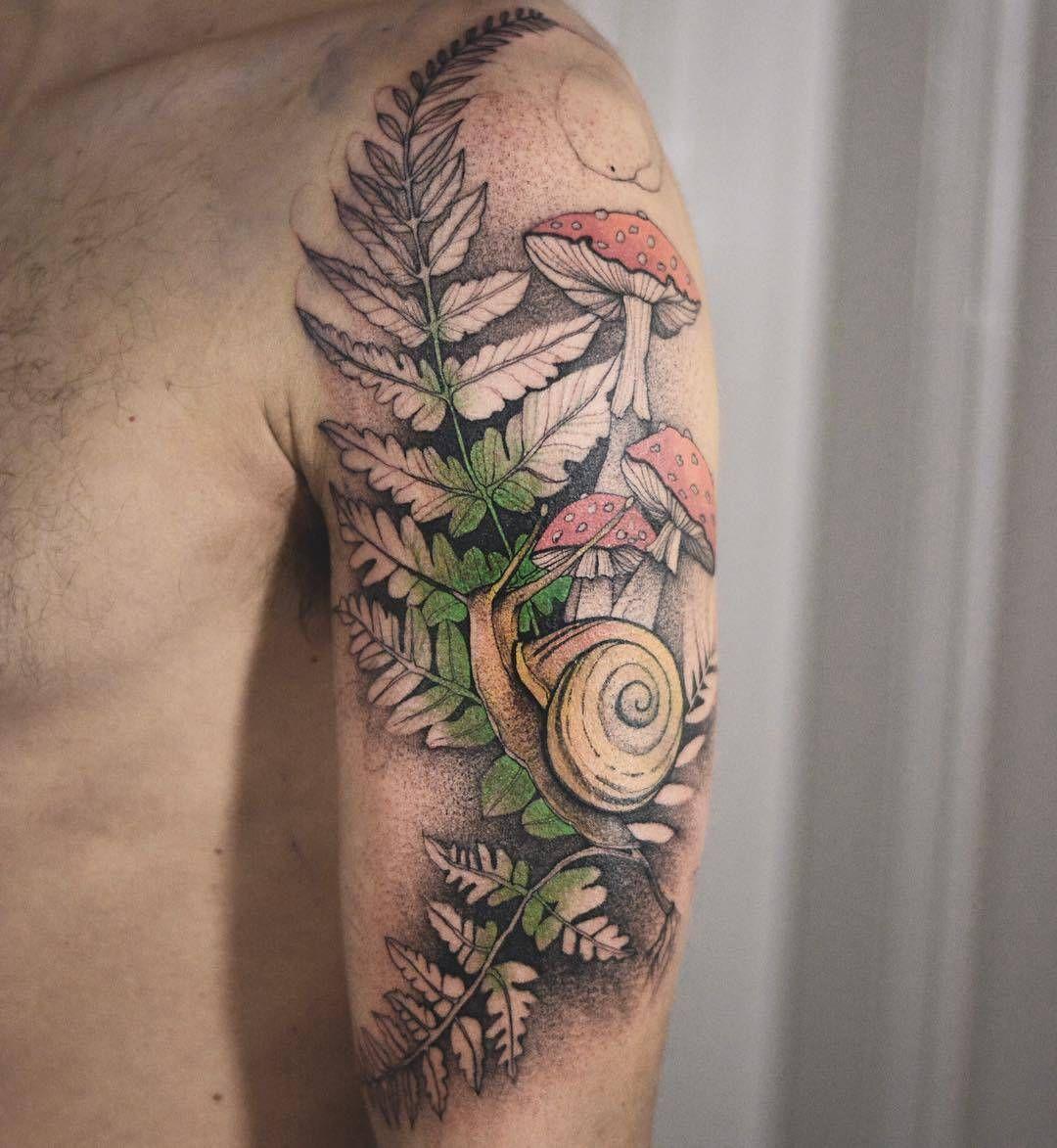 Dzo Lama S Fairy Tattoos Nature Tattoo Sleeve Mushroom Tattoos Fairy Tattoo