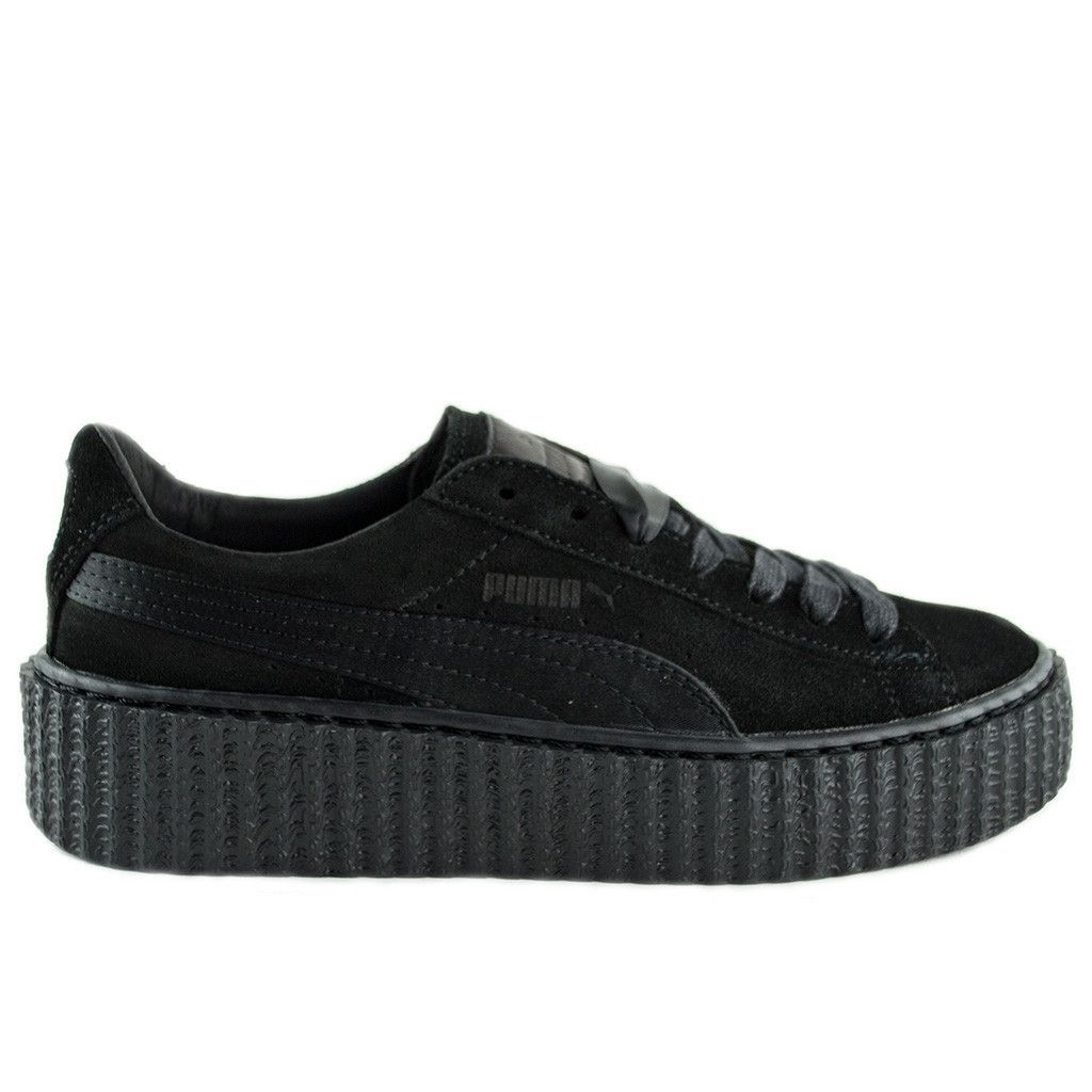 reputable site 4da5e d0239 Puma x Fenty Creepers by Rihanna Black/Black | Shoes! | Puma ...