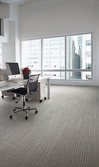 On Line / Interface Carpet Tile / Simple Modern Office Design