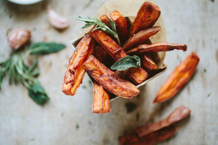tuscan sweet potato fries