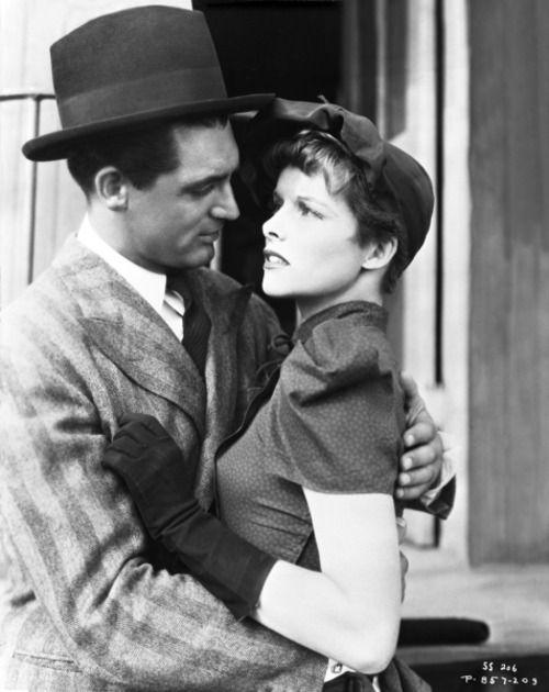 Cary Grant and Katharine Hepburn Sylvia Scarlett - (1935) dir. by George Cukor