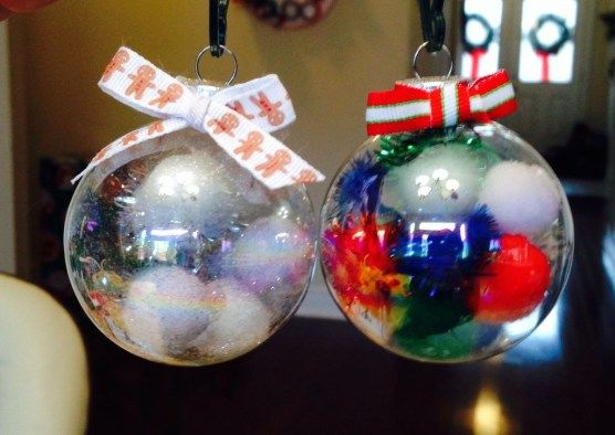 Clear Ornament Ideas For Kids