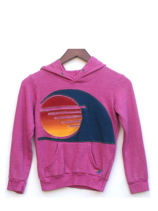 SUNSET WAVE PULLOVER - PINK