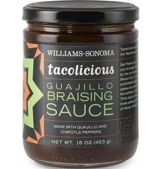Tacolicious Guajillo Braising Sauce | Williams Sonoma