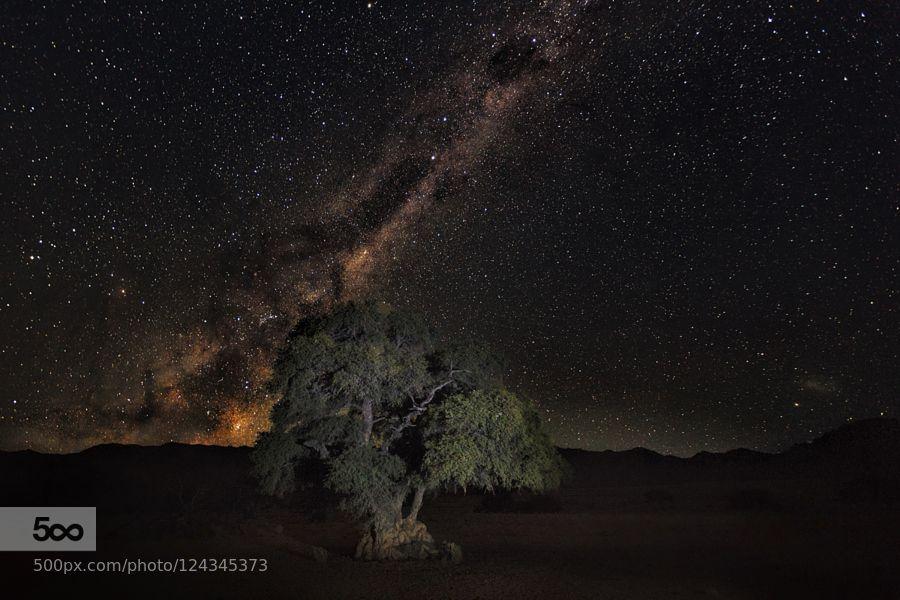 Milky Way Namib by VictorCarpentier #landscape #travel