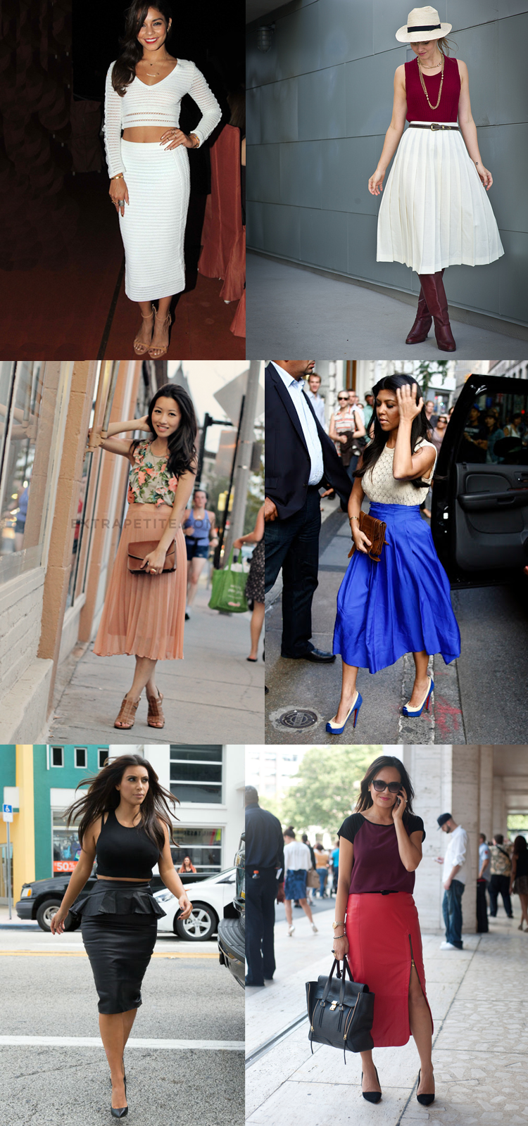 5b6109dfba3 how to wear midi skirts if you re short petite
