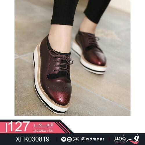 احذية عصرية ستايلات انيقة حذاء شوزات نسائية جزم بنات جامعه دوام شوز Oxford Shoes Womens Oxfords Fashion