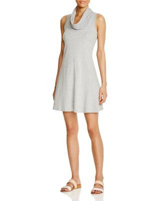 Three Dots Meryl Cowl Neck Dress | Bloomingdale's