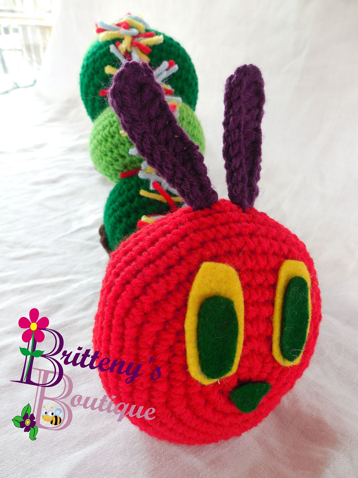 Ravelry Hungry Caterpillar Pattern By Brittenys Boutique Free