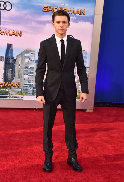 """Tom Holland attends the premiere of Columbia Pictures' """"Spider-Man: Homecoming"""" at TCL Chinese Theatre on June 28, 2017 in Hollywood, California."""