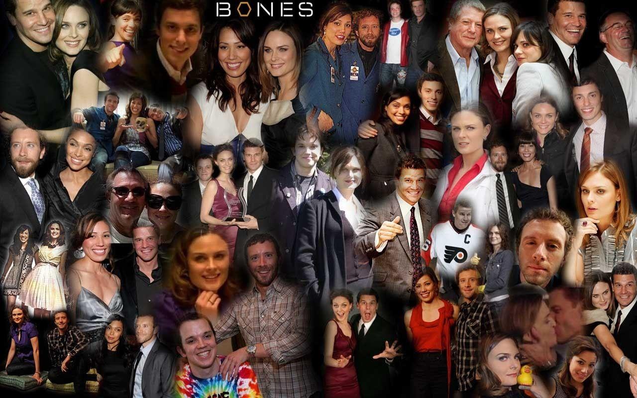 Bones Cast Wallpaper Bones tv show, Bones, It cast