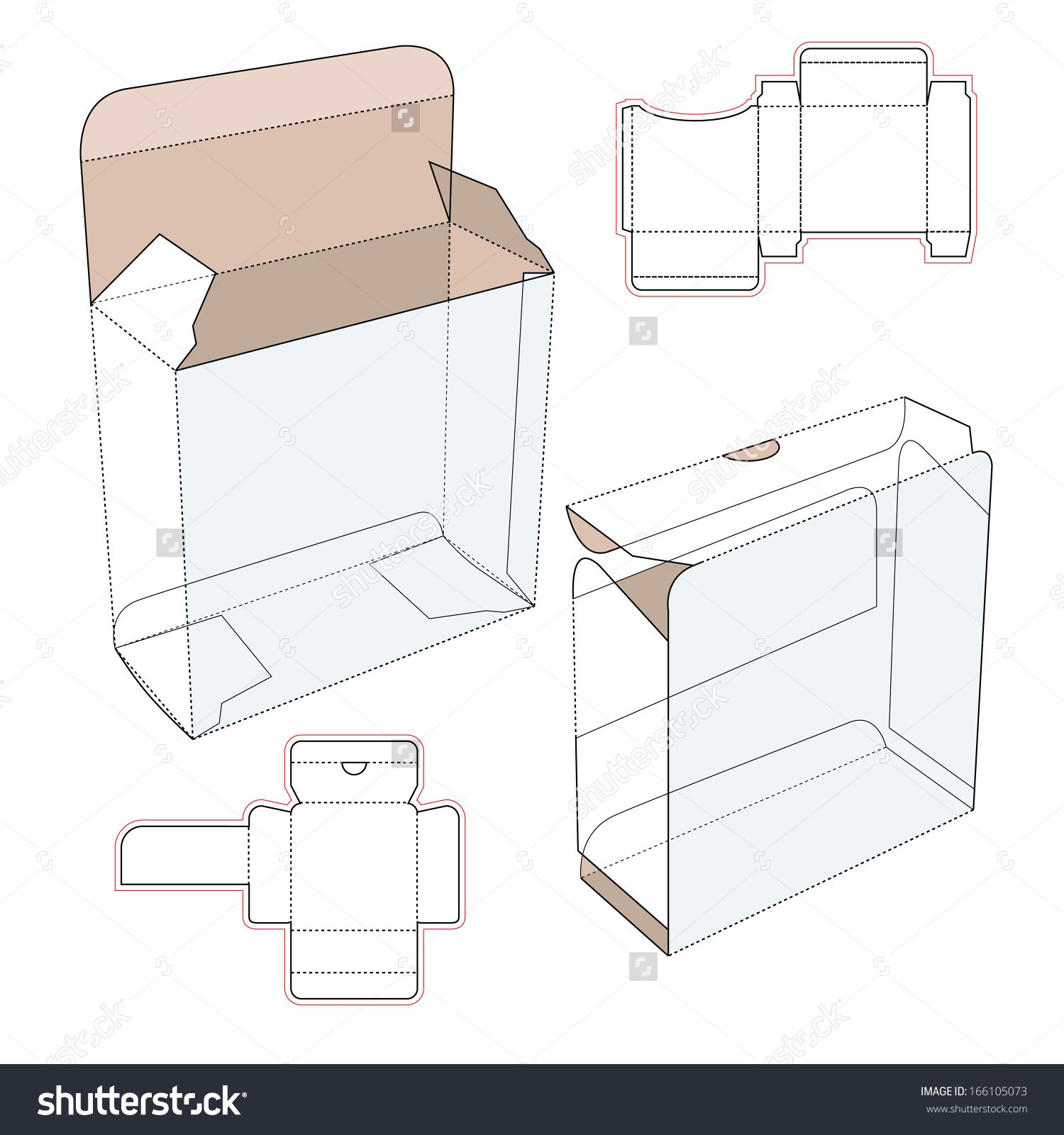 Perfume cardboard box with blueprint template stock vector perfume cardboard box with blueprint template stock vector illustration 166105073 shutterstock malvernweather Image collections
