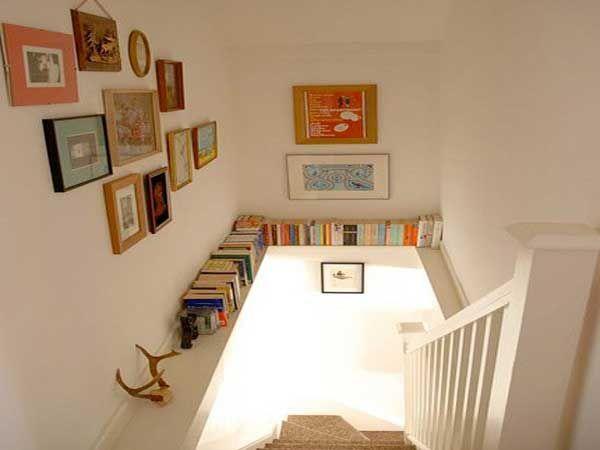 Cage d\'escalier : 20 idées déco pour un bel escalier | Murs blancs ...