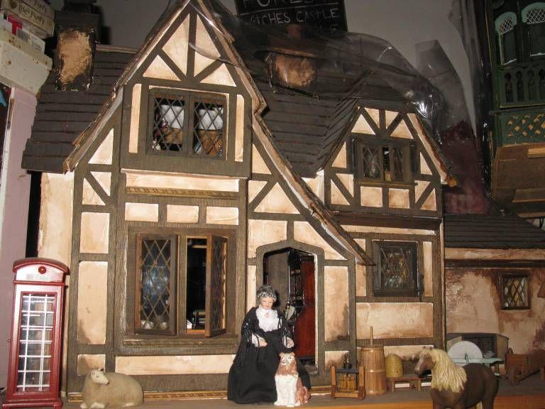 Dollhouses 2 Briar Rose An English Tudor Cottage Tudor Cottage Doll House English Cottage