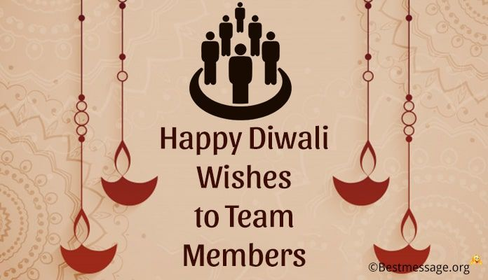 Happy Diwali Wishes to Team Members