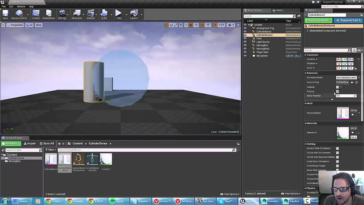 Unreal 4 tutorial basics of importing and playing animations unreal 4 tutorial basics of importing and playing animations malvernweather Image collections
