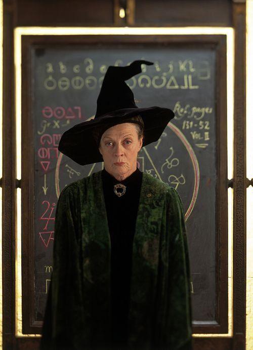 Professor Mcgonagall Maggie Smith Harry Potter Film Magie