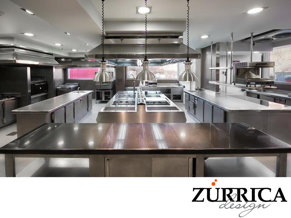 Las mejores cocinas industriales en zurrica design for Equipos restaurante