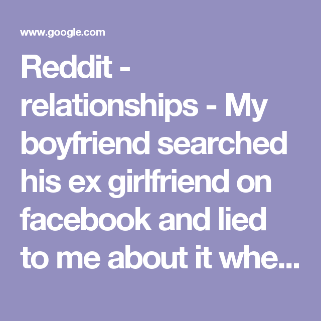 How to search girlfriend in facebook