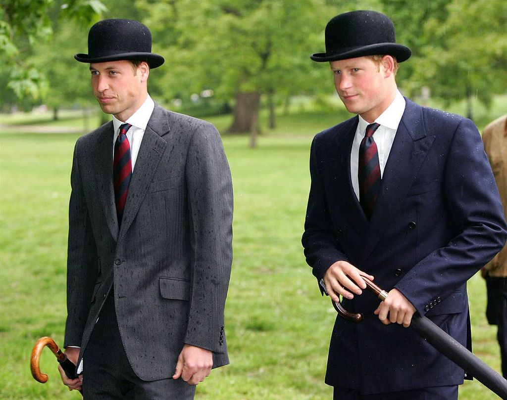 William and Harry Bowlers | da the Waxbitch®