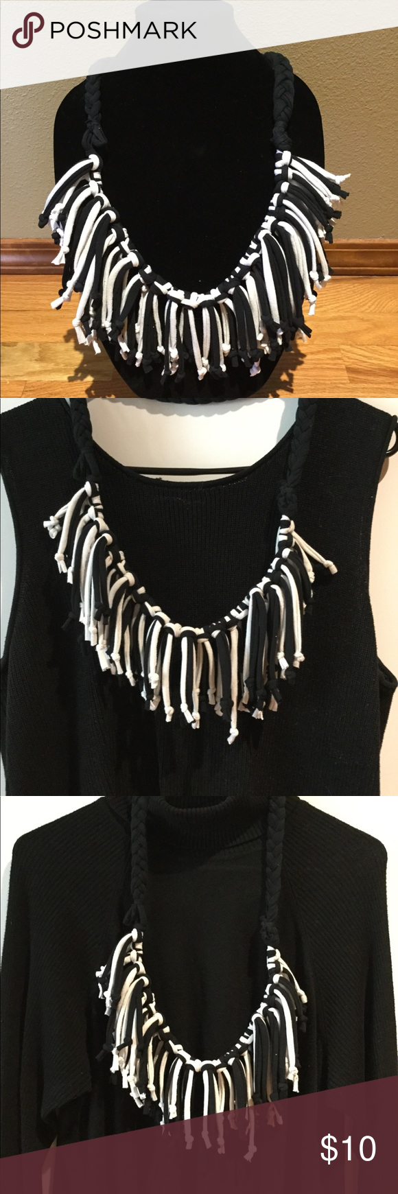 Shred Ups Cycled Fun Neckwear Shreds are fun unique neckwear that can be worn with a fun summer top or business attire. Shreds are made from up cycled material. Jewelry #businessattiresummer