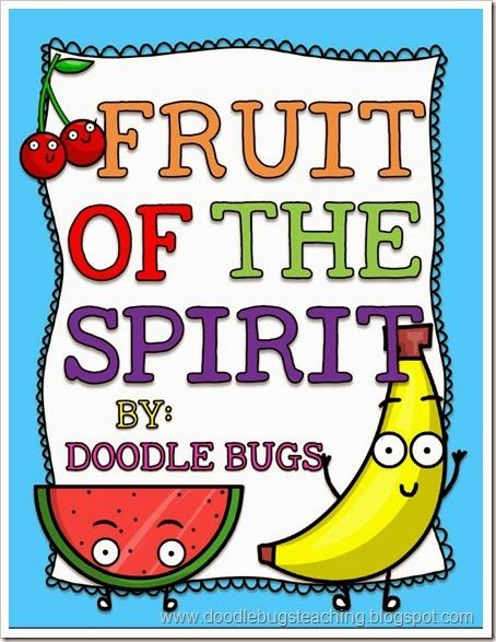 fruit of the spirit- bible lesson for kids - printables,book, craft ...