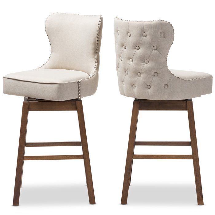 Brilliant Baxton Studio 30 51 Swivel Bar Stool Grandma Creativecarmelina Interior Chair Design Creativecarmelinacom