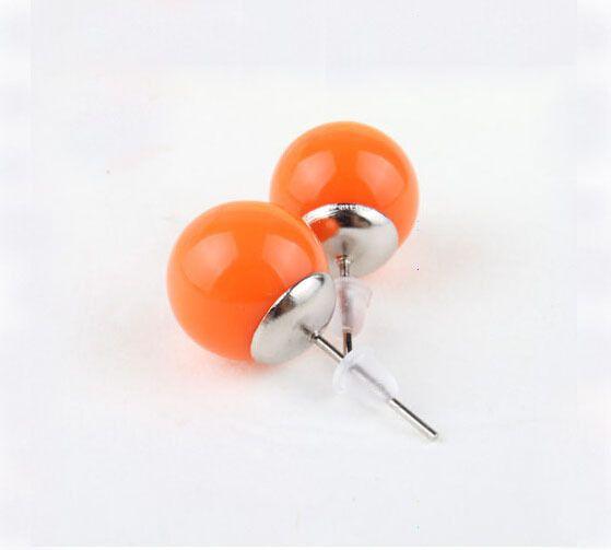 South Korean jewelry sale value Sweet candy ball  stud earrings earrings wholesale $2.36