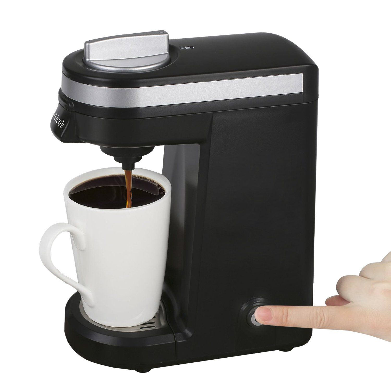 Amazoncom Aicok Single Serve Coffee Maker Travel Coffee Machine