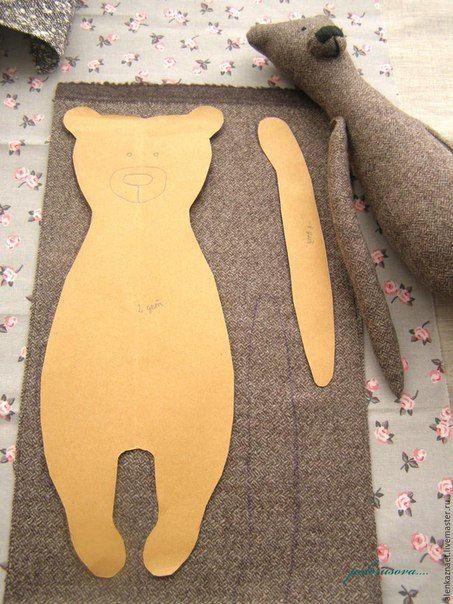 Pin von Tatjana auf Nähen | Pinterest | Bären, Nähen und Diy nähen