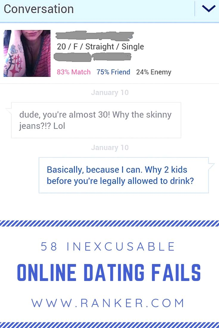 23 Inexcusable Online Dating FAILs | Funny instagram posts ...