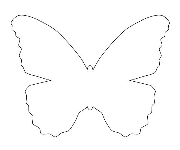 Sample Butterfly 9 Documents In Pdf Butterfly Printable