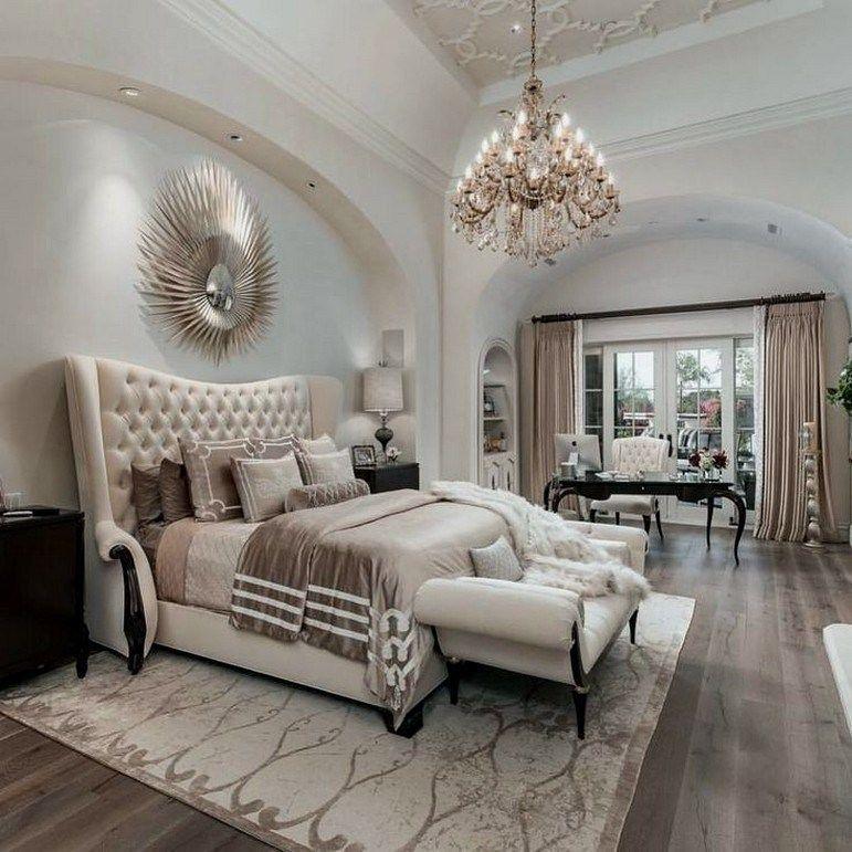 32 Fabulous Master Bedrooms With Sitting Area 00024 Area Bedrooms Fabulous Master Sitting In 2020 Luxurious Bedrooms Elegant Bedroom Design Comfortable Bedroom