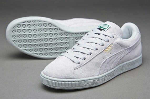 puma white suede