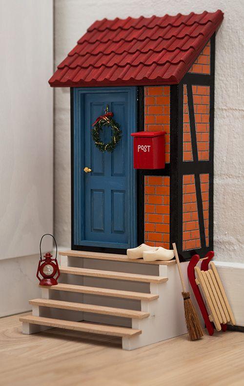 Fairy door nissed r fun for kids other handcrafts for Homemade elf door