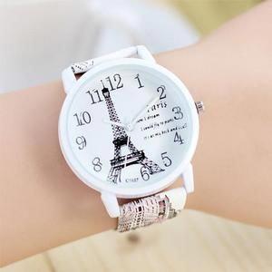Cute Paris Eiffel Tower Quartz Watch Ladies Students Casual Watches #eiffeltower