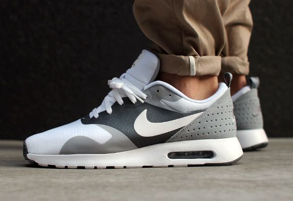 Nike Air Max Tavas 'White Grey' | Nike air max, Nike air